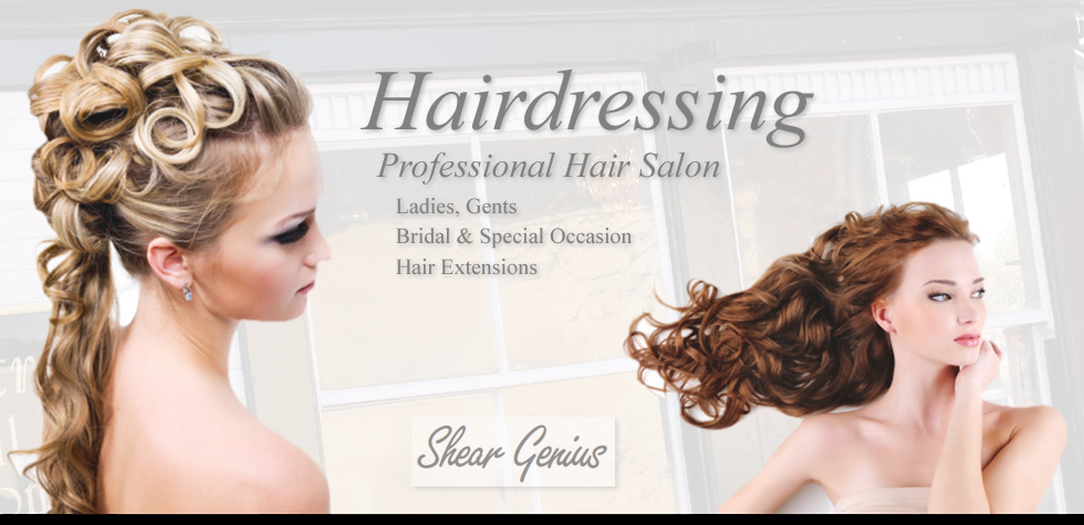 Hairdressing in Stone near Stoke on Trent, Staffordshire. Hairdressing for Ladies, Gents, Boys, Girls, Wedding and Bridal Hair, Racoon Hair Extensions