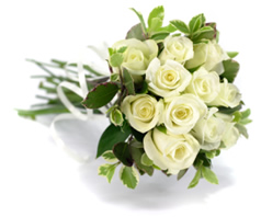 Bridal Hand Tied Bouquet by our Florist for your Wedding Day
