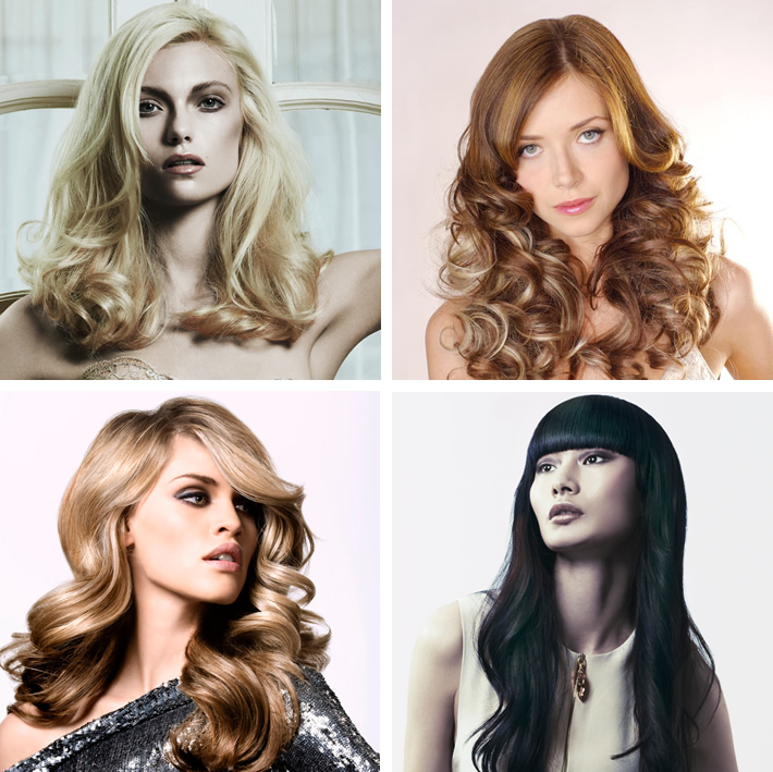 Racoon International Hair Extension Examples
