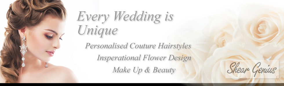 Complete Wedding service in Stone, near Stoke on Trent, Staffordshire. Specialist in Hairdressing, Flowers & Floristry for your Wedding Day.